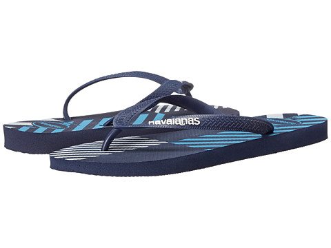 Havaianas - Top Trend Flip Flops (Black) Men's Flat Shoes