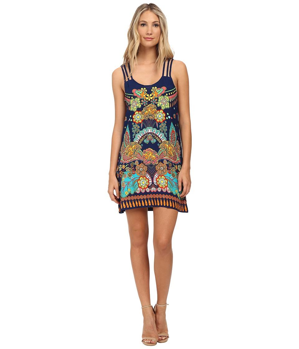 Nanette Lepore - Utopia Covers Short Dress Cover-Up (Multi) Women