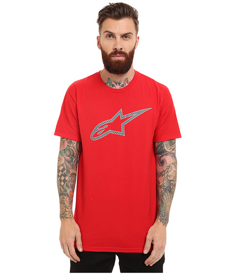 Alpinestars - Carbon Ageless (Red) Men's T Shirt