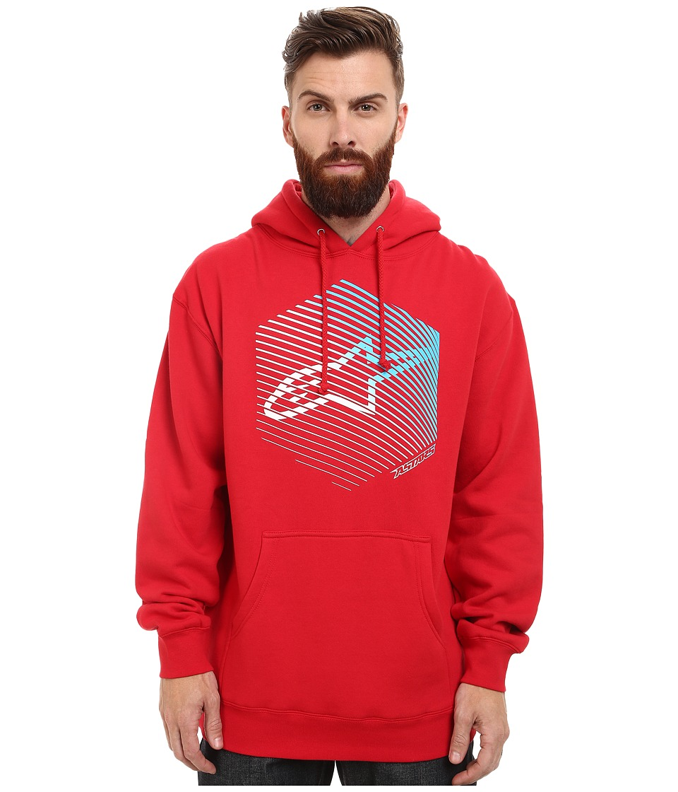 Alpinestars - Fins Pullover Fleece (Red) Men