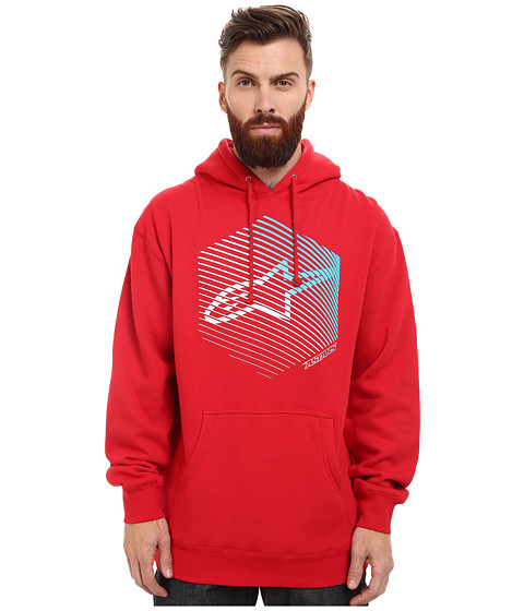 Alpinestars - Fins Pullover Fleece (Red) Men's Fleece