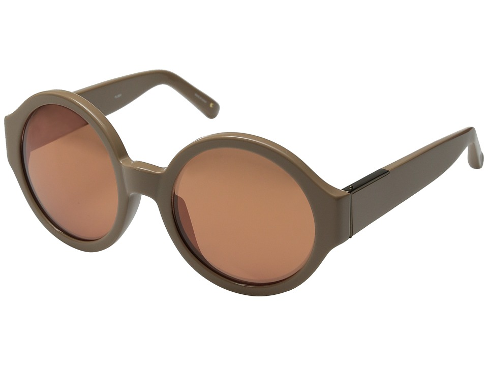 3.1 Phillip Lim - PL99 (Camel/Brushed Bronze/Copper Mirror) Fashion Sunglasses