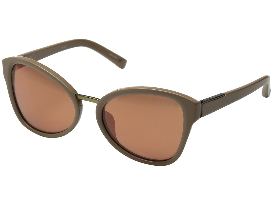 3.1 Phillip Lim - PL102 (Camel/Brushed Bronze/Copper Mirror) Fashion Sunglasses