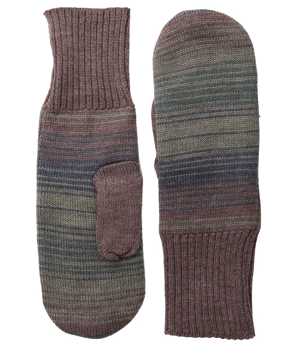 Pendleton - Fleece Lined Mittens (Yakima Camp Stripe) Wool Gloves