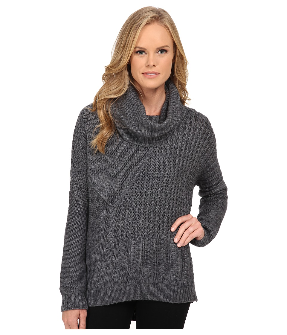 Splendid - Stanton Cable Pullover (Cinder) Women's Clothing