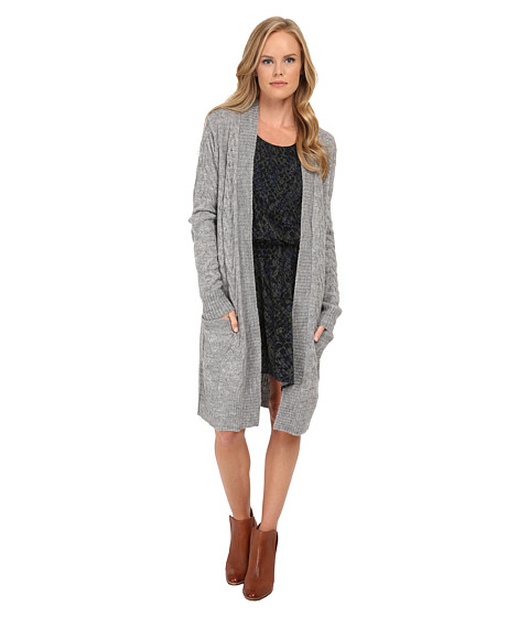 Splendid - Downtown Duster (Slate) Women's Sweater