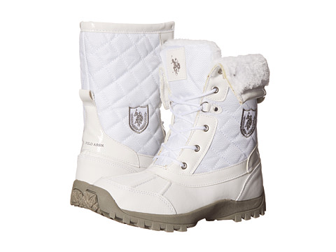U.S. POLO ASSN. - Peak (White) Women's Boots