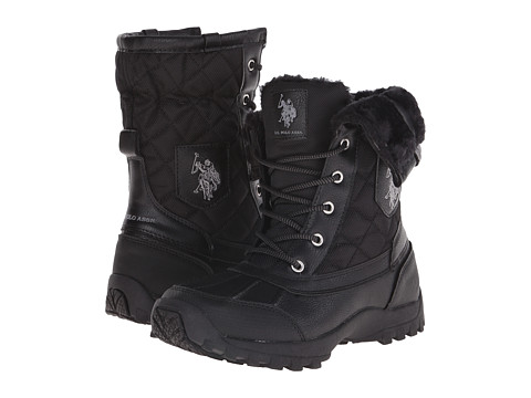 U.S. POLO ASSN. - Brisk (Black) Women's Boots