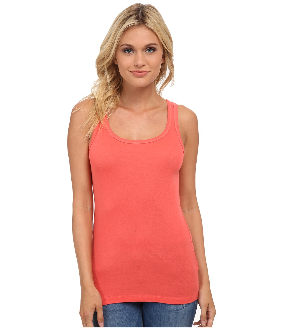 Splendid - 1x1 Tank Top (Blaze) Women
