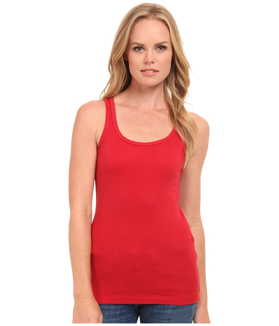 Splendid - 1x1 Tank Top (Currant) Women