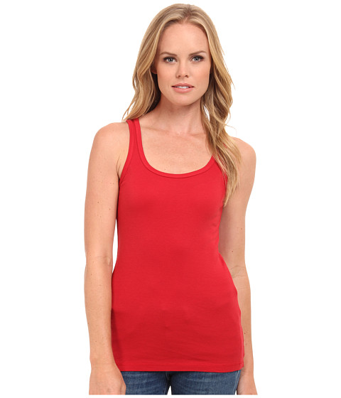 Splendid - 1x1 Tank Top (Currant) Women's Sleeveless