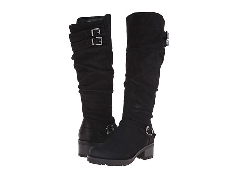White Mountain - Block (Black Suede) Women