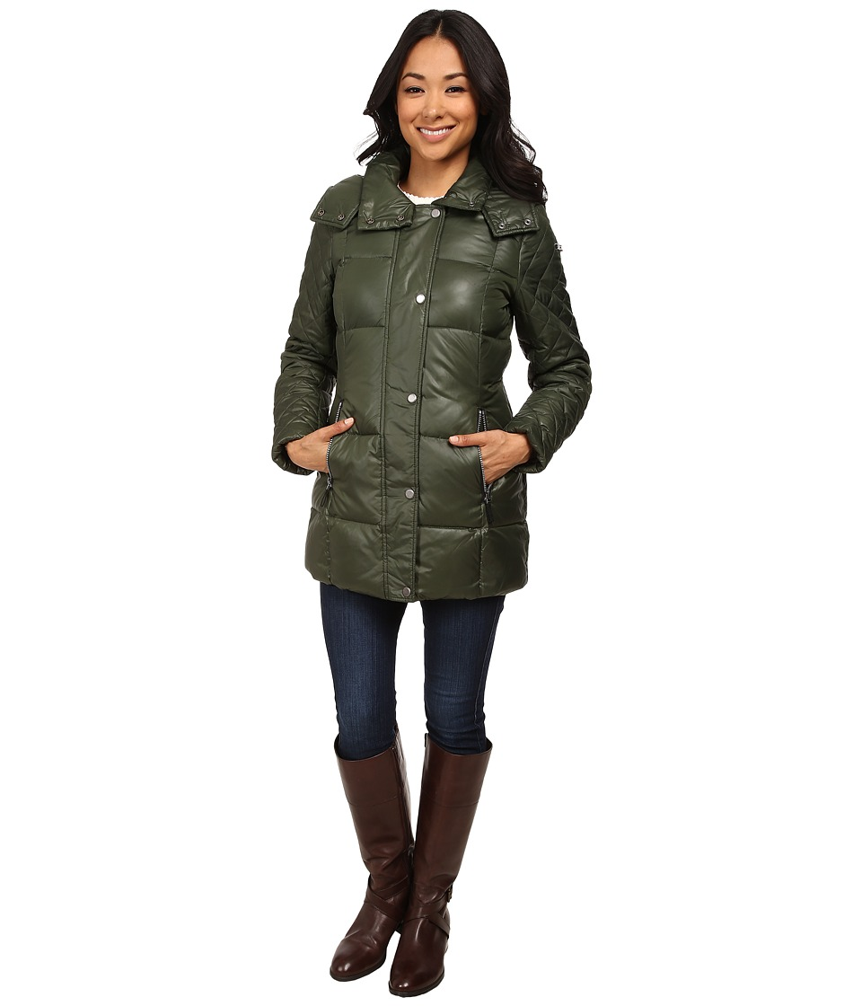 Marc New York by Andrew Marc - Alise 30 Block Puffer (Olive) Women's Coat