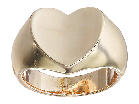GUESS - Heart Signet Ring (Rose Gold) Ring