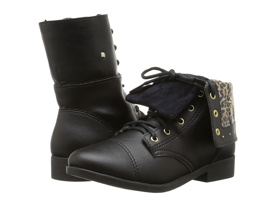 Pampili - Bota Biker 207 (Little Kid/Big Kid) (Black) Girl's Shoes