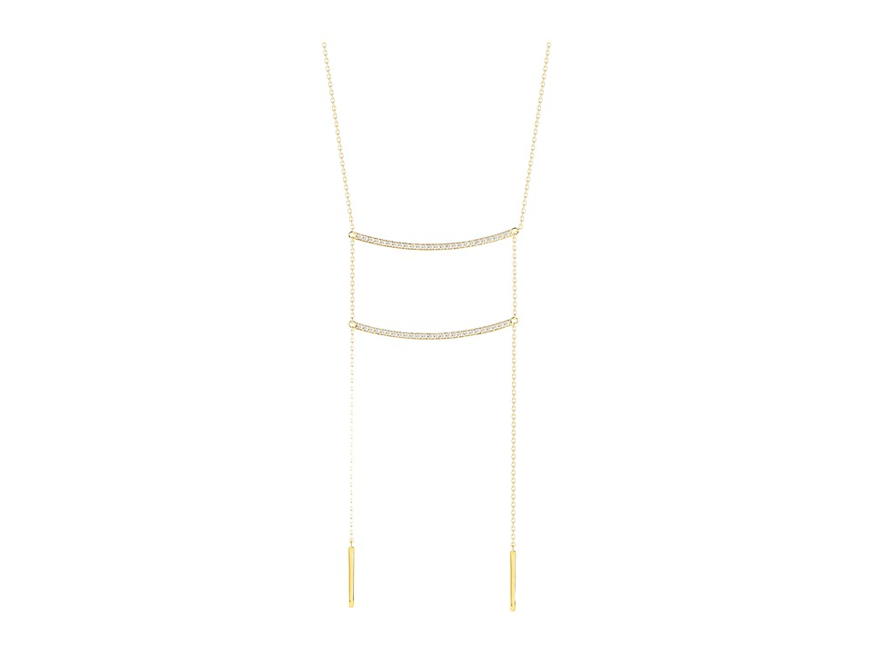 Elizabeth and James - Aalto Necklace (Yellow Gold) Necklace