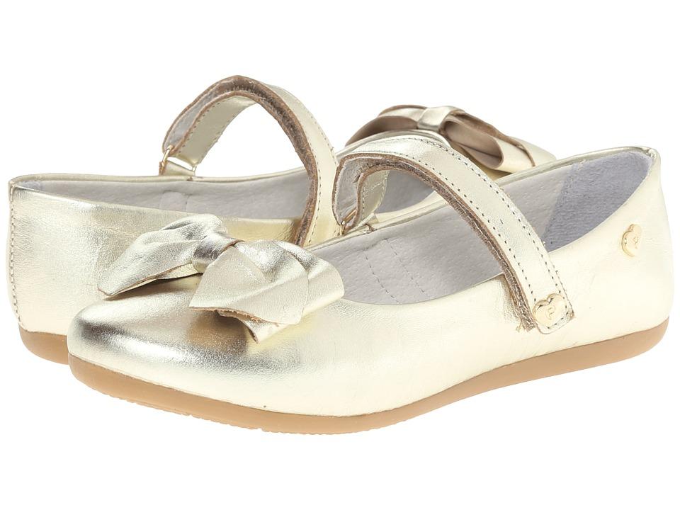 Pampili - Sofia 214 (Toddler/Little Kid/Big Kid) (Gold) Girls Shoes