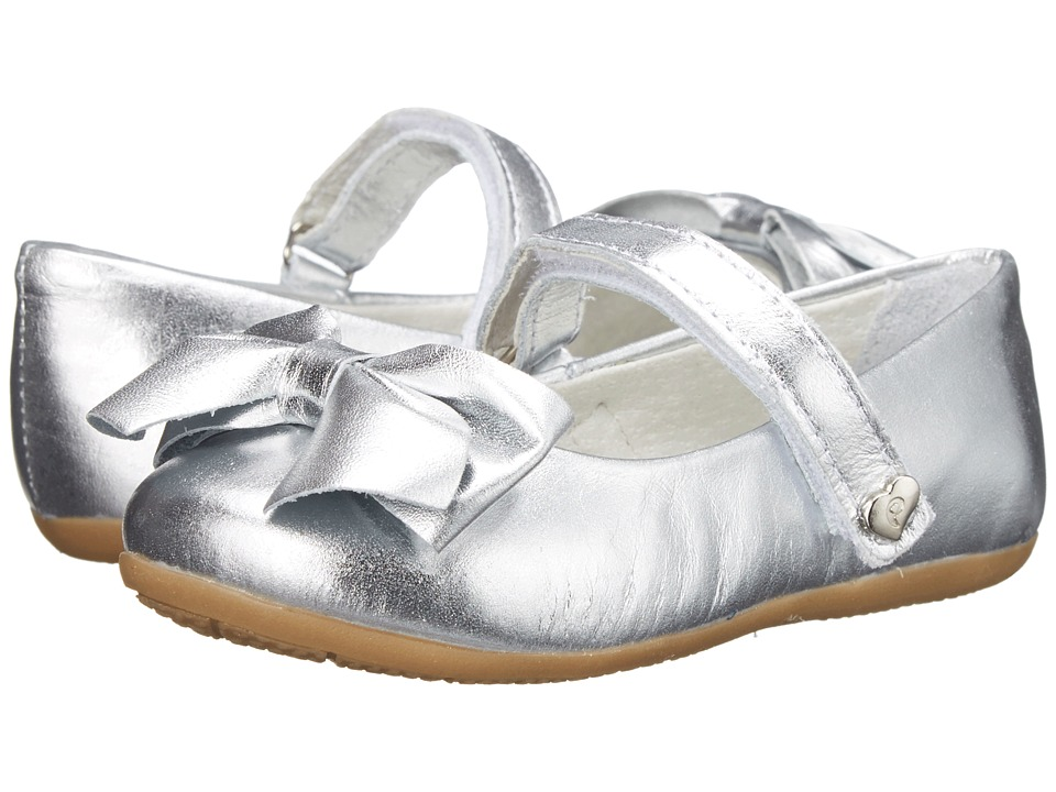 Pampili - Sofia 214 (Toddler/Little Kid/Big Kid) (Silver) Girls Shoes