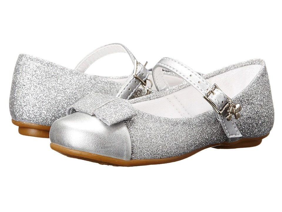 Pampili - Angel 10 (Toddler/Little Kid/Big Kid) (Silver 1) Girl's Shoes