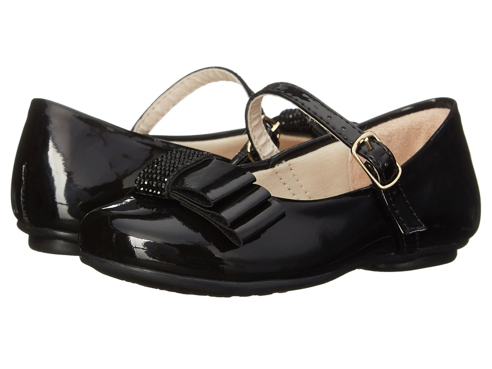 Pampili - Angel 10 (Toddler/Little Kid/Big Kid) (Black) Girl's Shoes