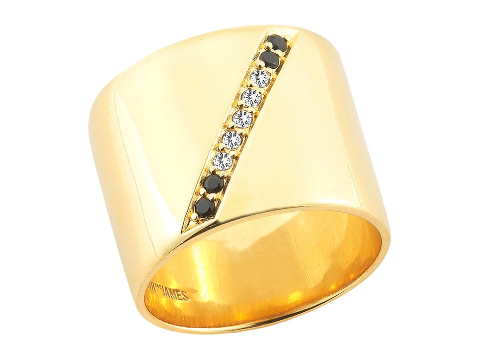 Elizabeth and James - Paxton Ring (Yellow Gold) Ring