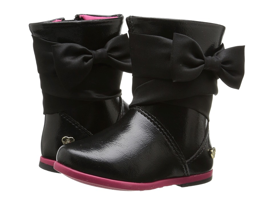 Pampili - Bota Alice 227 (Toddler/Little Kid) (Black) Girl's Shoes