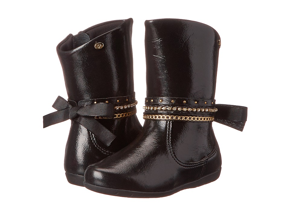 Pampili - Bota Jujuba 367 (Toddler/Little Kid) (Black) Girl's Shoes