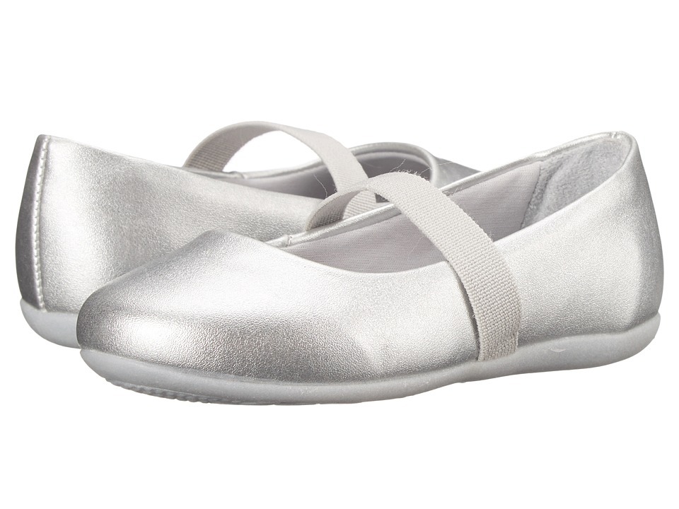 Pampili - Bailarina 188 (Toddler/Little Kid) (Silver) Girl's Shoes