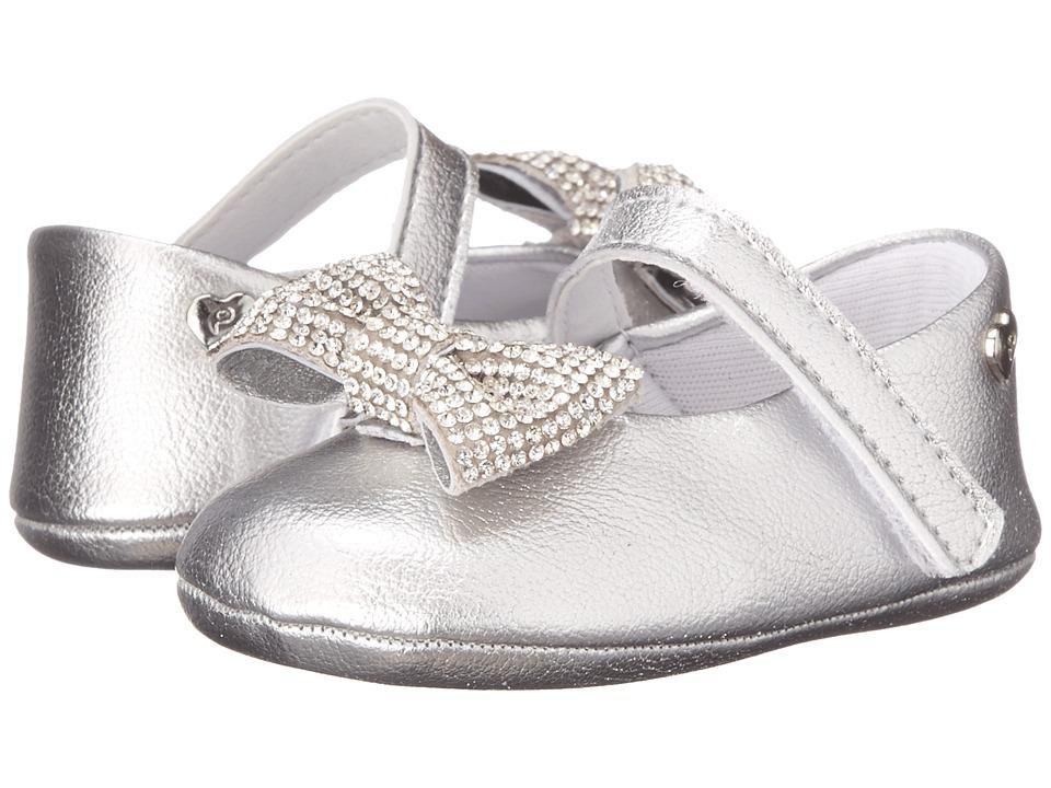 Pampili - Nina 379 (Infant/Toddler) (Silver) Girls Shoes