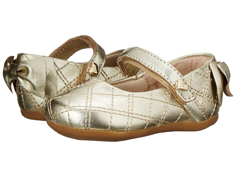 Pampili - Lara Sapato 248 (Infant/Toddler) (Gold) Girls Shoes