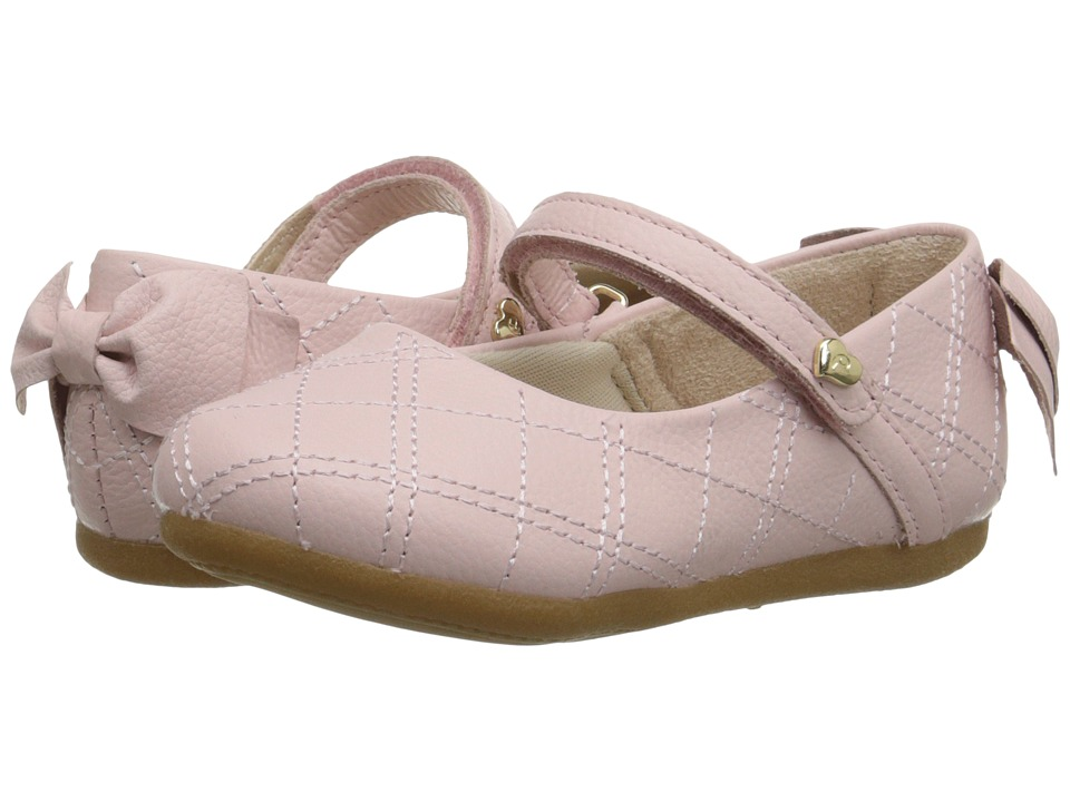 Pampili - Lara Sapato 248 (Infant/Toddler) (Rose) Girls Shoes