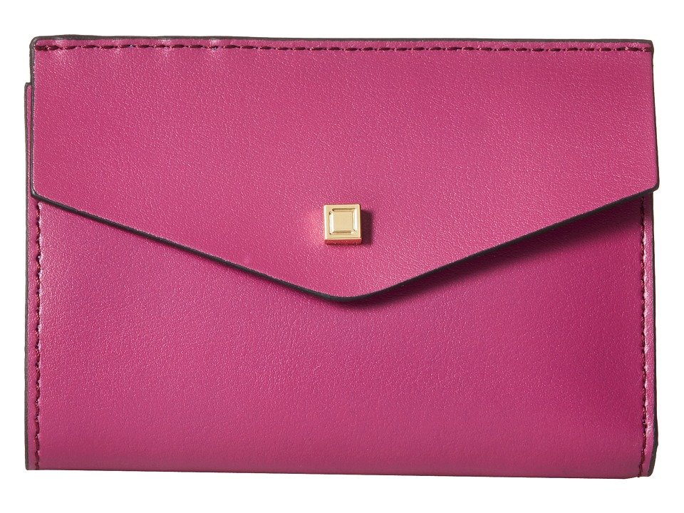 Lodis Accessories - Blair Unlined Rachel French Purse (Plum/Cobalt) French Wallet