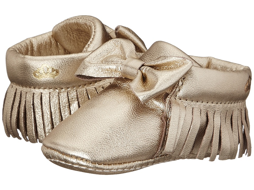 Pampili - Mini 113 (Infant) (Gold) Girl's Shoes