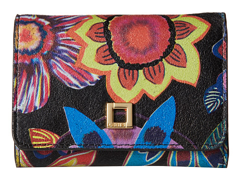 Lodis Accessories - Vanessa Print Mallory French Purse (Multi) Wallet Handbags
