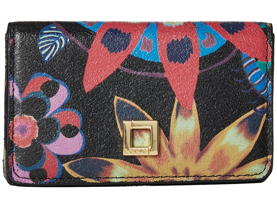 Lodis Accessories - Vanessa Print Mini Card Case (Multi) Credit card Wallet