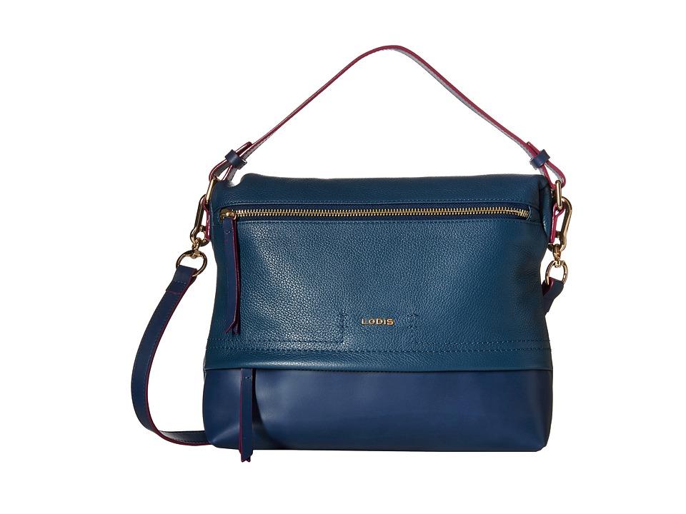 Lodis Accessories - Kate Serina Hobo (Indigo) Hobo Handbags