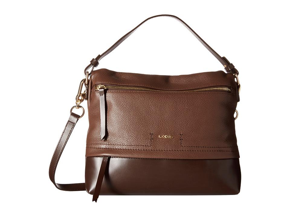 Lodis Accessories - Kate Serina Hobo (Chocolate) Hobo Handbags