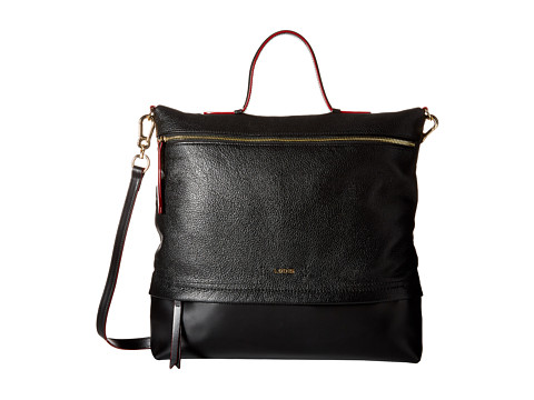 Lodis Accessories - Kate Paige Messenger (Black) Messenger Bags