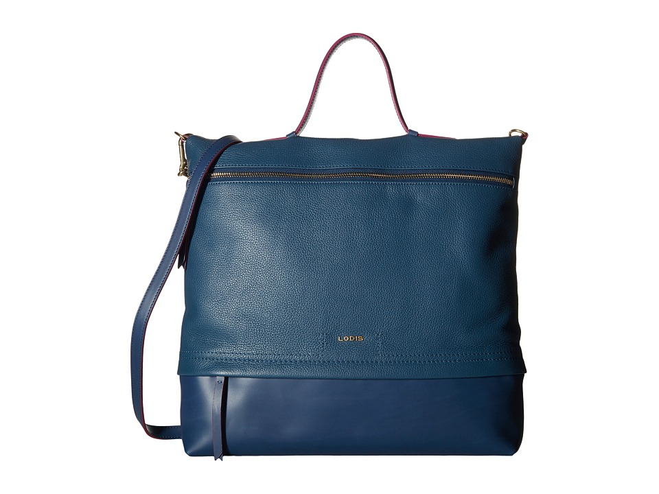 Lodis Accessories - Kate Paige Messenger (Indigo) Messenger Bags