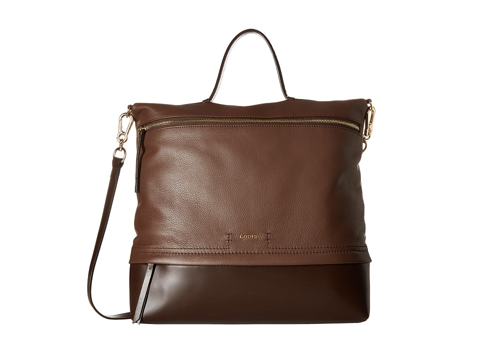Lodis Accessories - Kate Paige Messenger (Chocolate) Messenger Bags