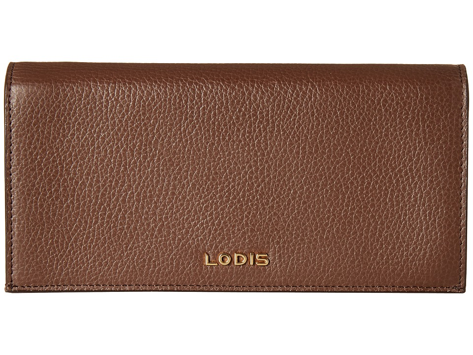 Lodis Accessories - Kate Kia Wallet (Chocolate) Wallet Handbags