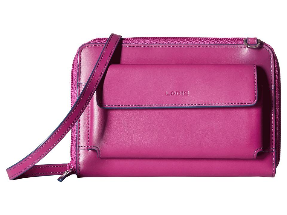 Lodis Accessories - Audrey Tracy Small Crossbody (Plum/Indigo) Cross Body Handbags