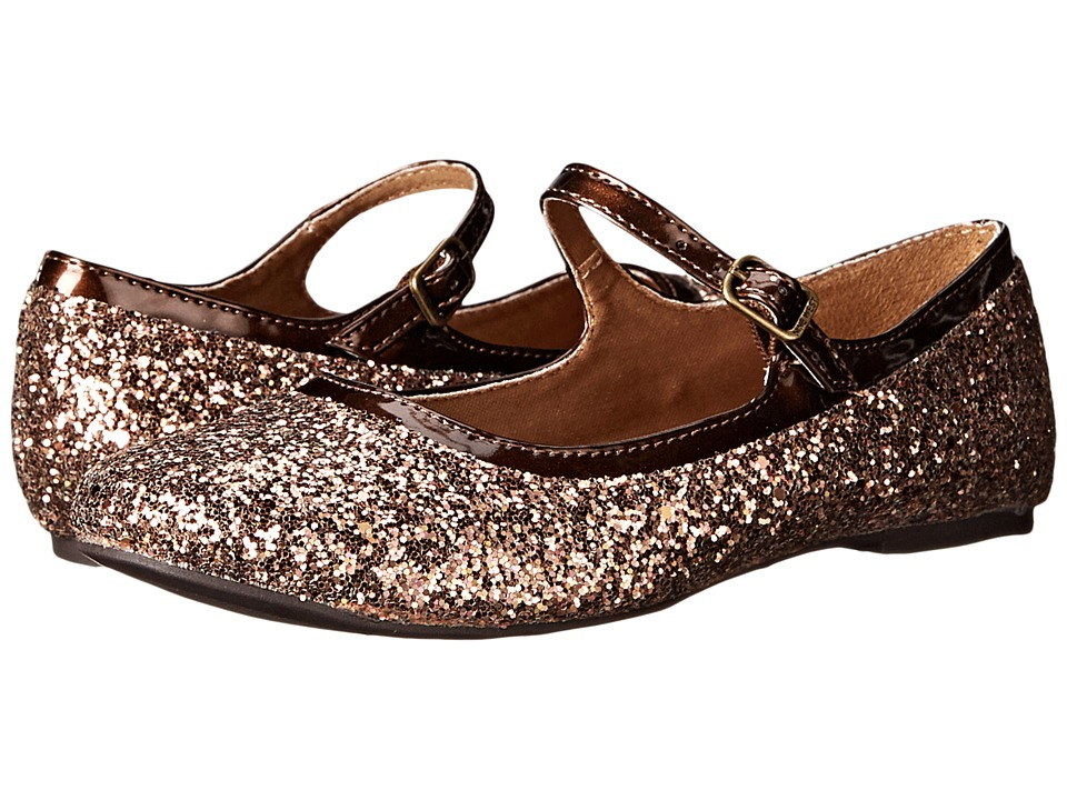 Nine West Kids - Figi (Little Kid/Big Kid) (Bronze/Brown Glitter) Girl