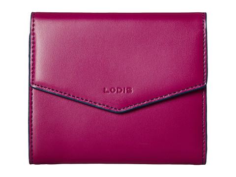 Lodis Accessories - Audrey Lana French Purse (Plum/Indigo) Wallet Handbags