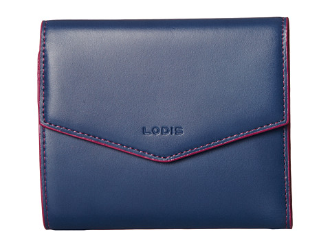 Lodis Accessories - Audrey Lana French Purse (Indigo/Plum) Wallet Handbags