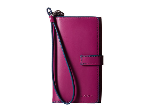 Lodis Accessories - Audrey Lily Phone Wallet (Plum/Indigo) Wallet Handbags