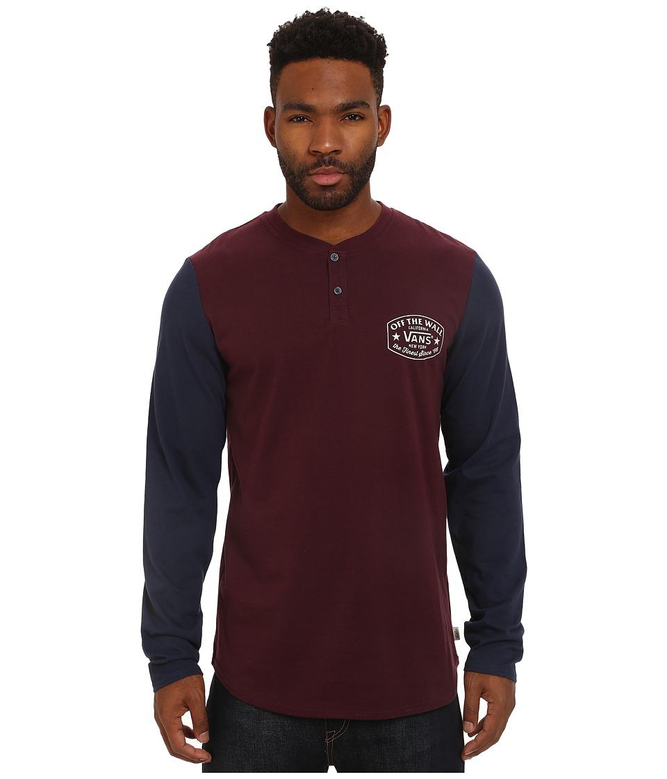 Vans - Robles (Port) Men's Clothing