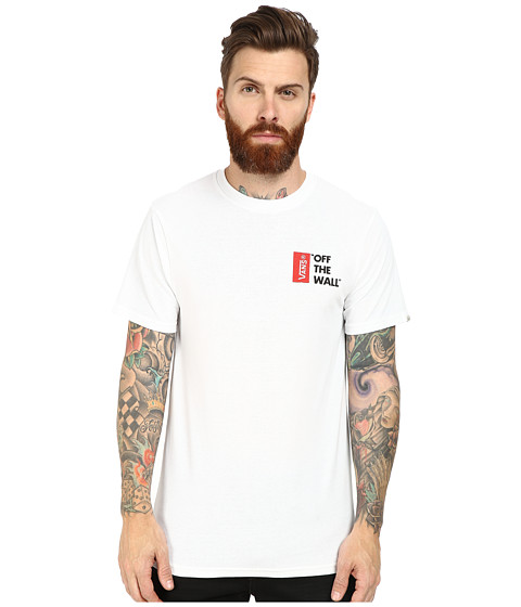 Vans - Off The Wall II (White) Men's T Shirt