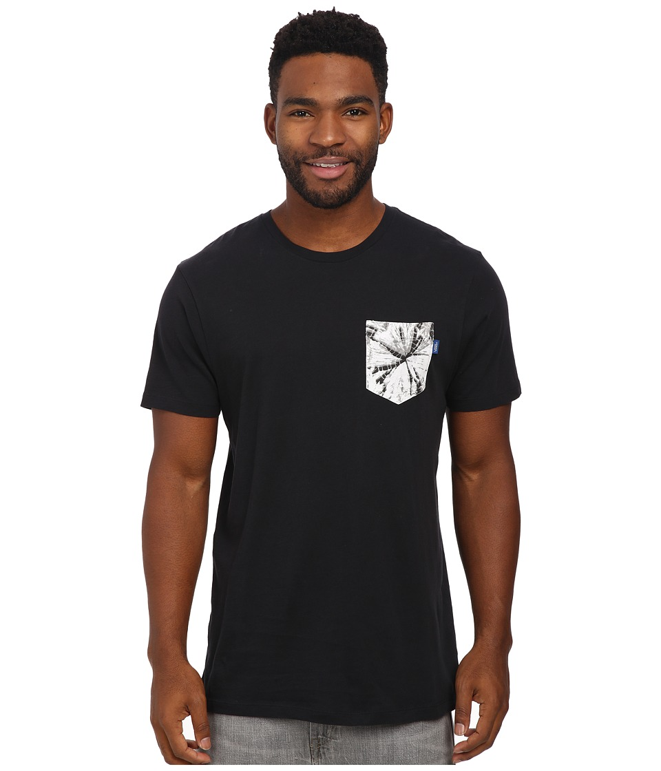Vans - Arachnid Pocket Tee (Black) Men's T Shirt