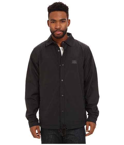 Vans - Jonesport Mountain Edition (Black Alantic Deep Plaid) Men's Coat